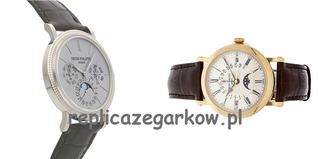 Patek Philippe Officer Shell Single Button Timing Repliki Zegarków
