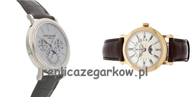 Patek Philippe Officer Shell Single Button Timing Repliki Zegarków