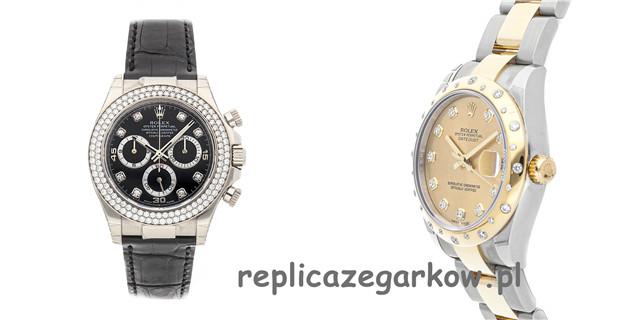 Pasek Do Zegarka Rolex Replica Z Różnicą Na Logo